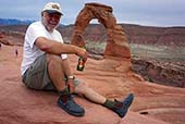 ron moon arches national park usa