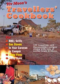 Viv Moon Travellers' Cookbook camp oven cooking