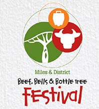 beef bells and bottle tree festival Miles queensland