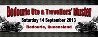 bedourie ute and travellers' muster