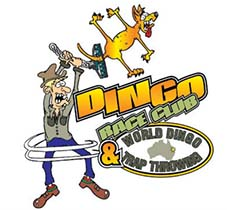 dingo race day and world famous dingo trap throwing competition