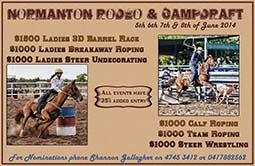 normanton show campdraft and rodeo