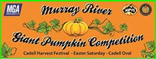 murray river giant pumpkin competition cadell harvest festival