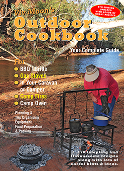 Viv Moon's Outdoor Cookbook camp oven cooking