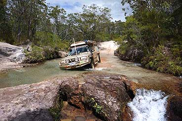 Cape York crossing Canal Creek